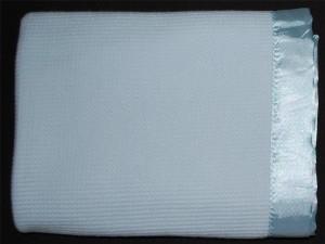 Blue Baby Blanket 1
