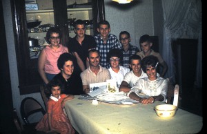 1962 DA Wayne Bday with SS kids